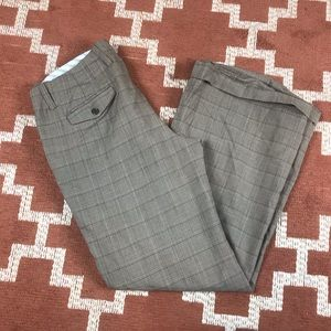 Gap 14 stretch lined wool blend cuffed pants